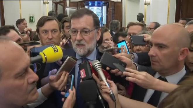 Mariano Rajoy ha assegurat que la dimissió de Cristina Cifuentes com a presidenta de la Comunitat de Madrid era obligada