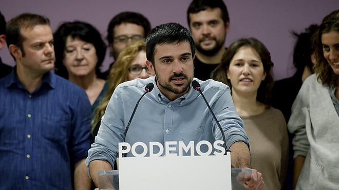 Ramón Espinar: El destí de Pablo Iglesias i el de Podem estan molt lligats.