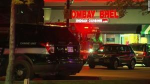 El restaurante indio donde se ha producido la explosión, en Mississauga (Ontario).