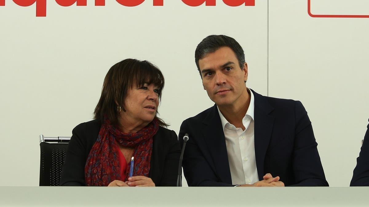 Reunión de la Comisión Ejecutiva Federal del PSOE.