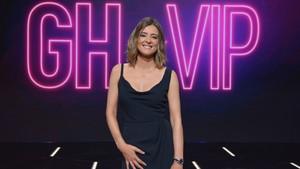 Sandra Barneda en el plató de 'GH VIP 6'.