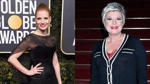 Oscars 2019: Terelu se cuela en el Instagram de Jessica Chastain