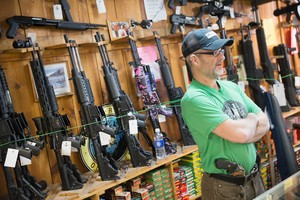 Según una encuesta de la Universidad de Chicago, el 32% de los americanos posee una arma de fuego.