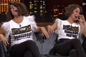 Silvia Abril imita a Barei frente a la propia cantante en una hilarante entrevista en 'Late Motiv'