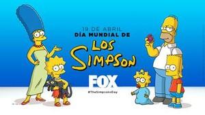 Imagen promocional de la serie Los Simpson en la cadena de pago Fox.