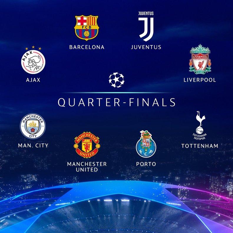 Horari i on veure el sorteig dels quarts de final de la Champions