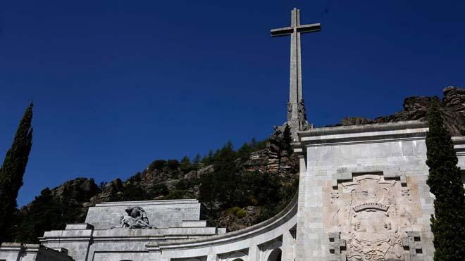 El Supremo suspende cautelarmente la exhumación de Franco. En la imagen, el Valle de los Caídos.