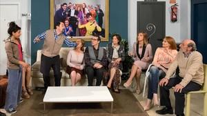 Imagen de la serie de Tele 5  La que se avecina, una de las preferidas por los millennials.