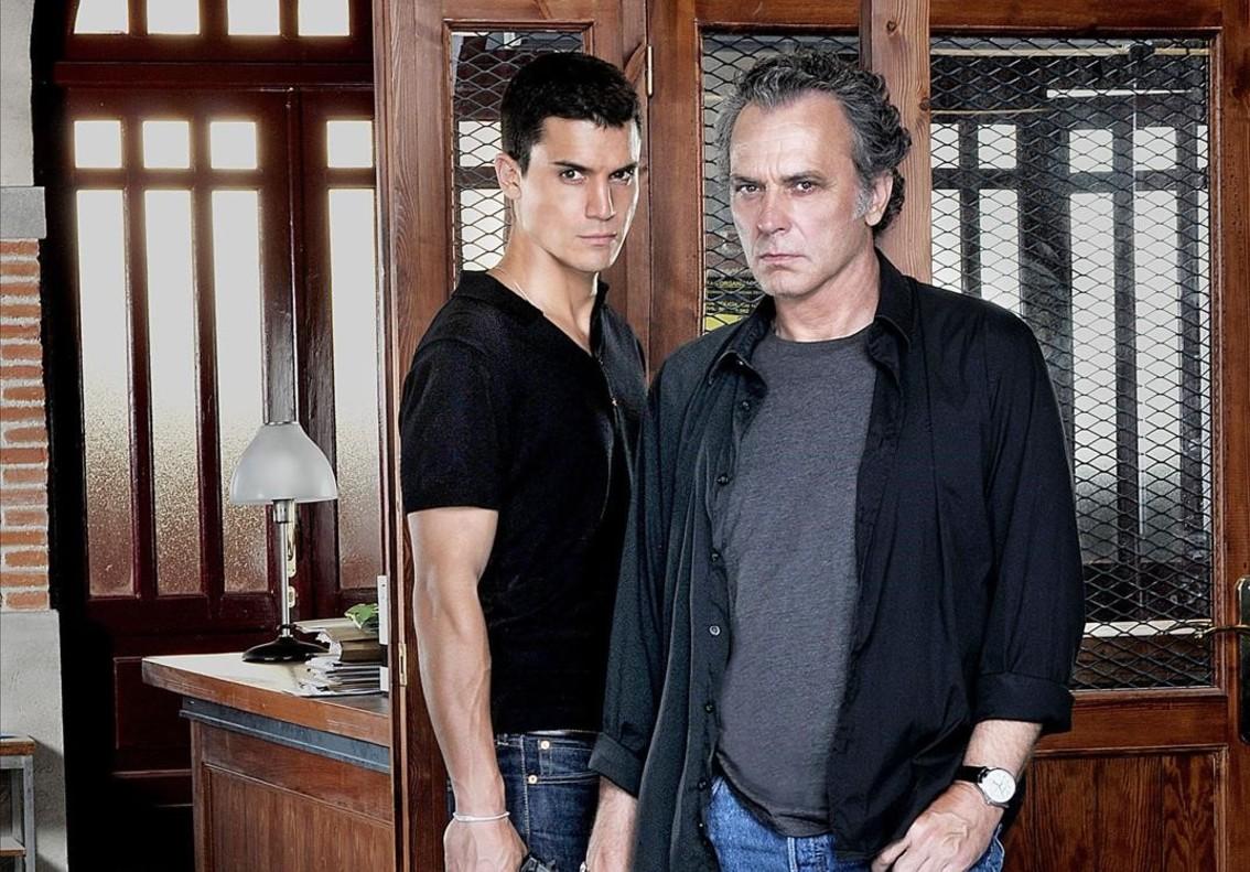 Alex González y Jose Coronado, protagonistas de 'El Príncipe' y 'Vivir sin permiso'.