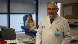 El oncólogo Josep Tabernero, en una foto de archivo del 2018.