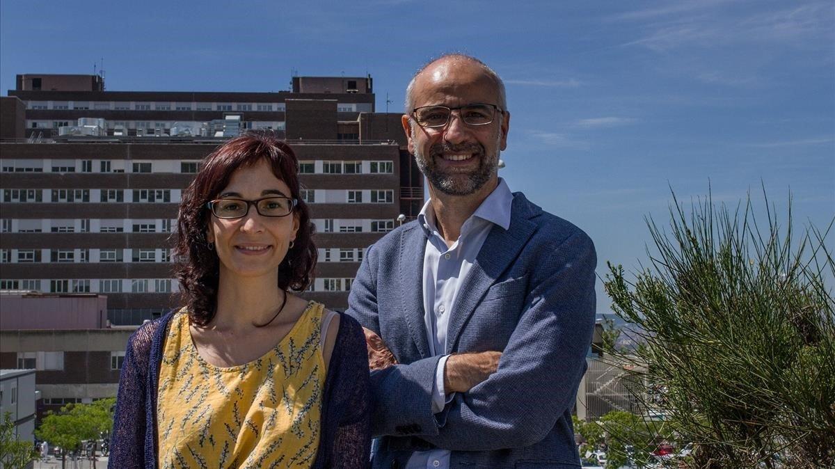 María Carmen Puertas y Javier Martínez-Picado, líderes del estudio.
