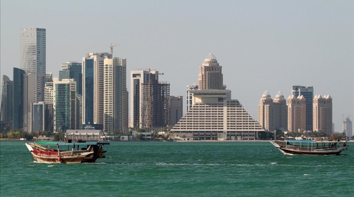 Vista de la ciudad de Doha, capital de Catar.