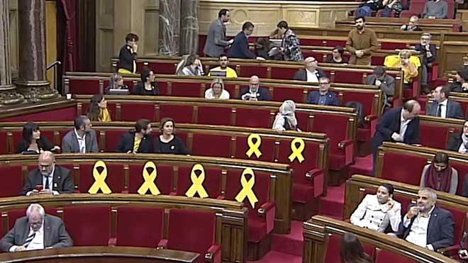 Rubén Wagensberg llama fascistas a Ciutadans y Carlos Carrizosa le reta a verse fuera.