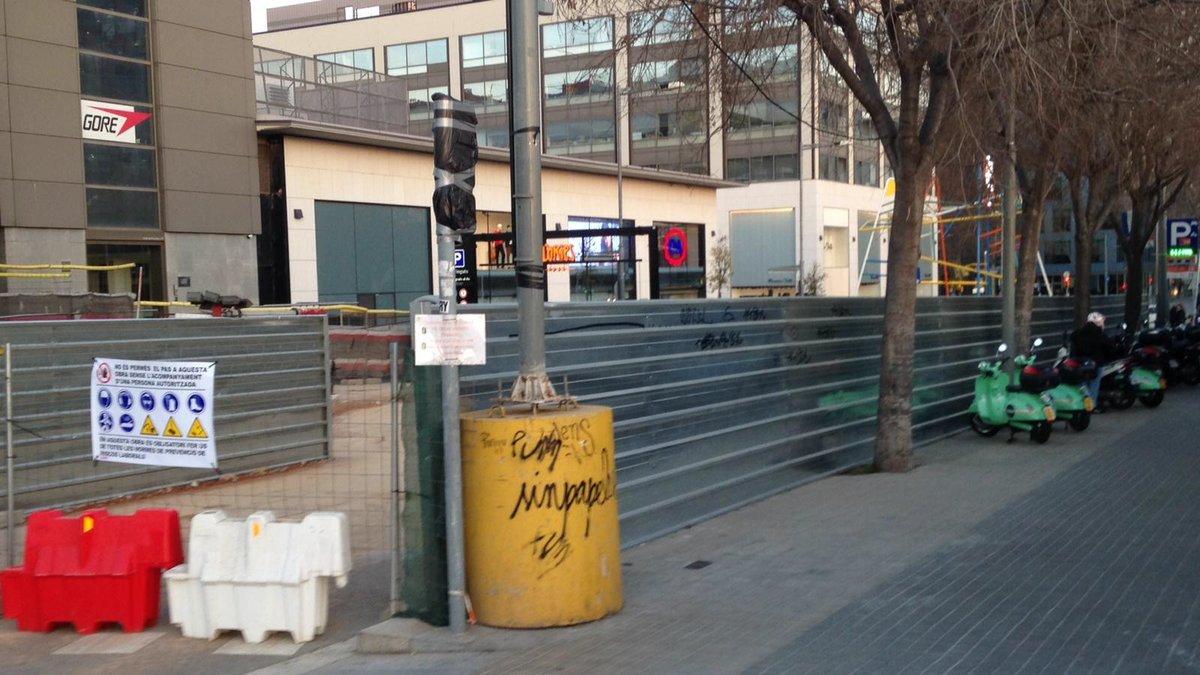 El noi que va morir a les obres de Glòries de Barcelona era un universitari de la UPF