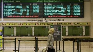 La vaga de Renfe afecta Rodalies, AVE i Llarga i Mitjana Distància