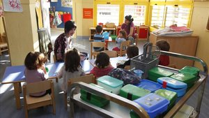 Només el 26% de les famílies pobres porten els seus fills a la guarderia