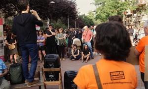 El Sindicat de Llogaters exhibeix múscul i se suma a la lluita de Sant Antoni