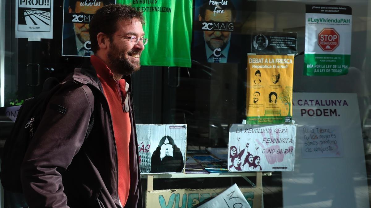 Dimisiones en Podem en solidaridad con Fachin