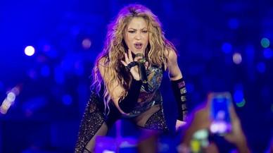 Shakira fa ballar Barcelona en el seu retorn