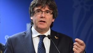 Puigdemont va suspendre la DUI sense l'oferta de mediació que va al·legar
