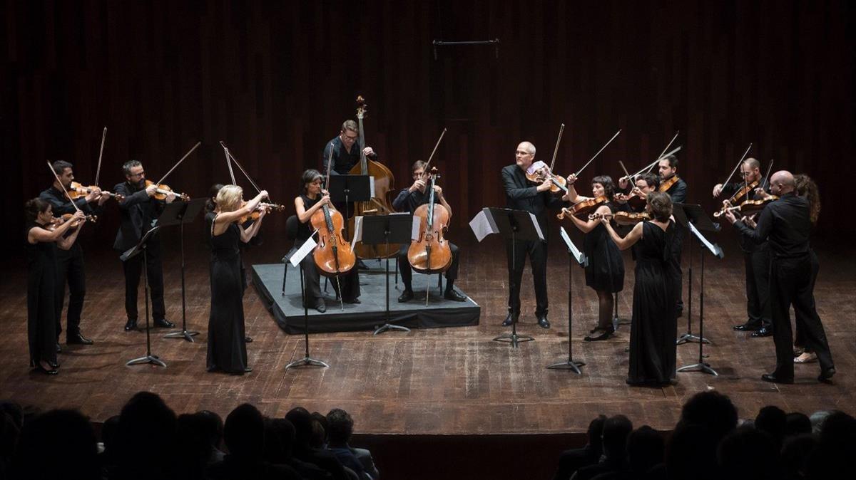 La Orquestra Da Camera, en el Auditori.