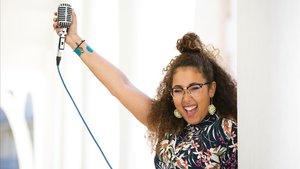 Atenea Carter, en la escuela de música que inaugurará en septiembre en Terrassa.