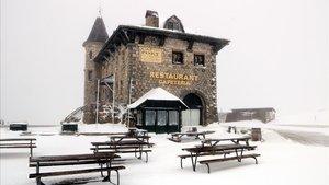 La Bonaigua, nevada.