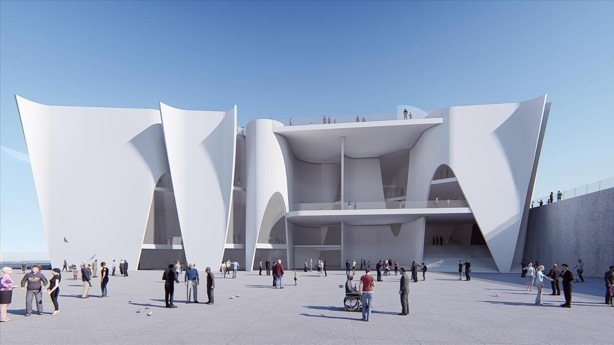 Barcelona descarta per «responsabilitat» l'Hermitage al port