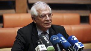 Borrell s'entrevistarà demà amb Pompeo a Washington