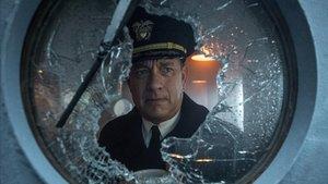 Tom Hanks en 'Greyhound'.