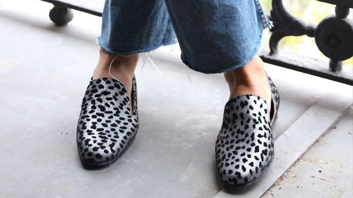 Mocasines sostenibles de la firma Momoc Shoes.