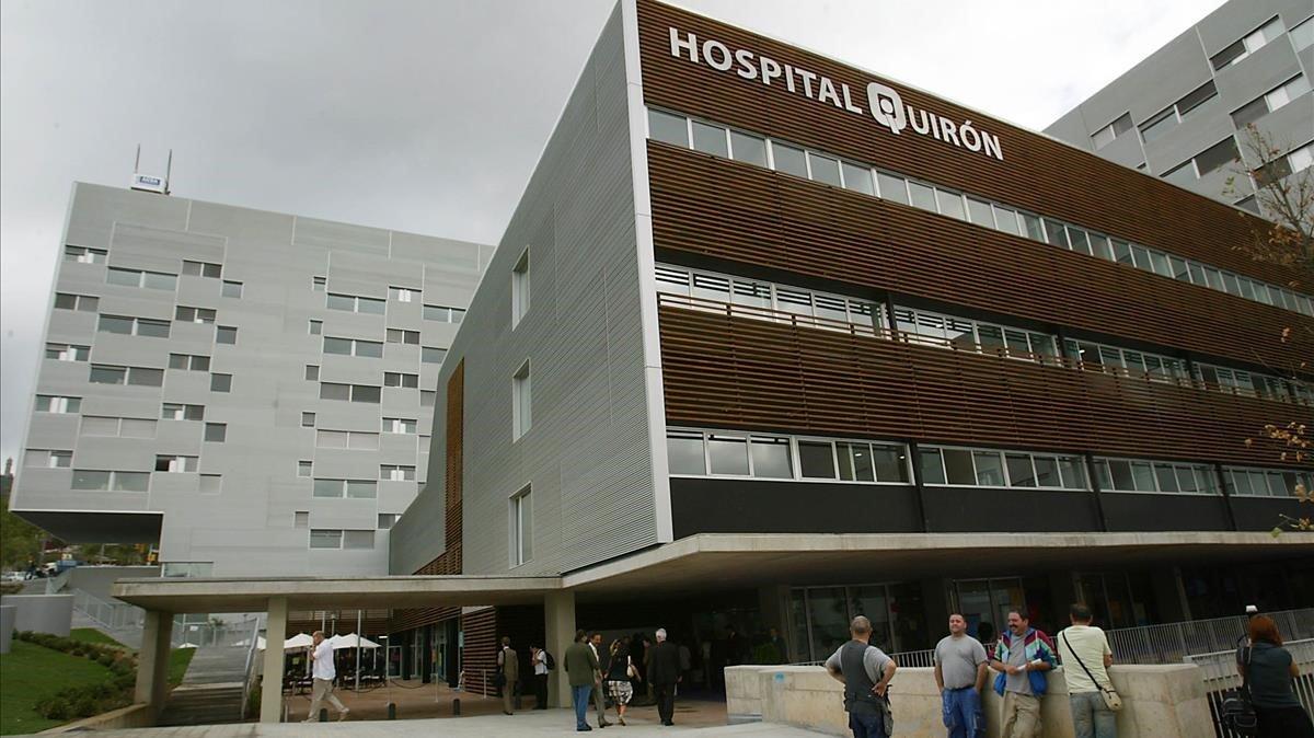 Solvia ven per uns 200 milions tres hospitals llogats per Quirón