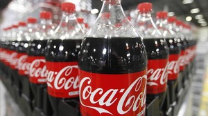 lpedragosa19763088 bottles of coca cola are seen in a warehouse at th160523220532