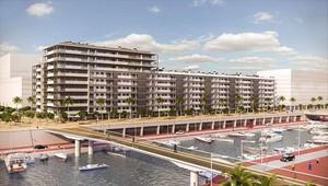 Badalona 8 Imagen virtual de una promoción inmobiliaria de Neinor.