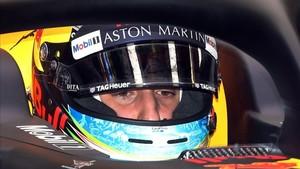 Ricciardo, sancionado con 3 posiciones