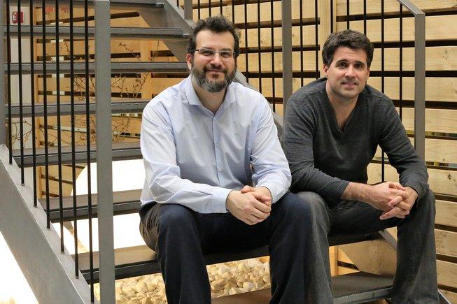 Ofir Arad (izquierda) y Marc Ribó, cofundadores de Anaconda Biomed.