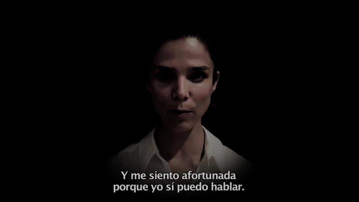 La actriz Juana Acosta participa en la campaña de Oxfam Intermón 'Juntas somos Victoria'.
