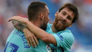 Messi s'enfada i liquida el partit amb l'Alabès (0-2)