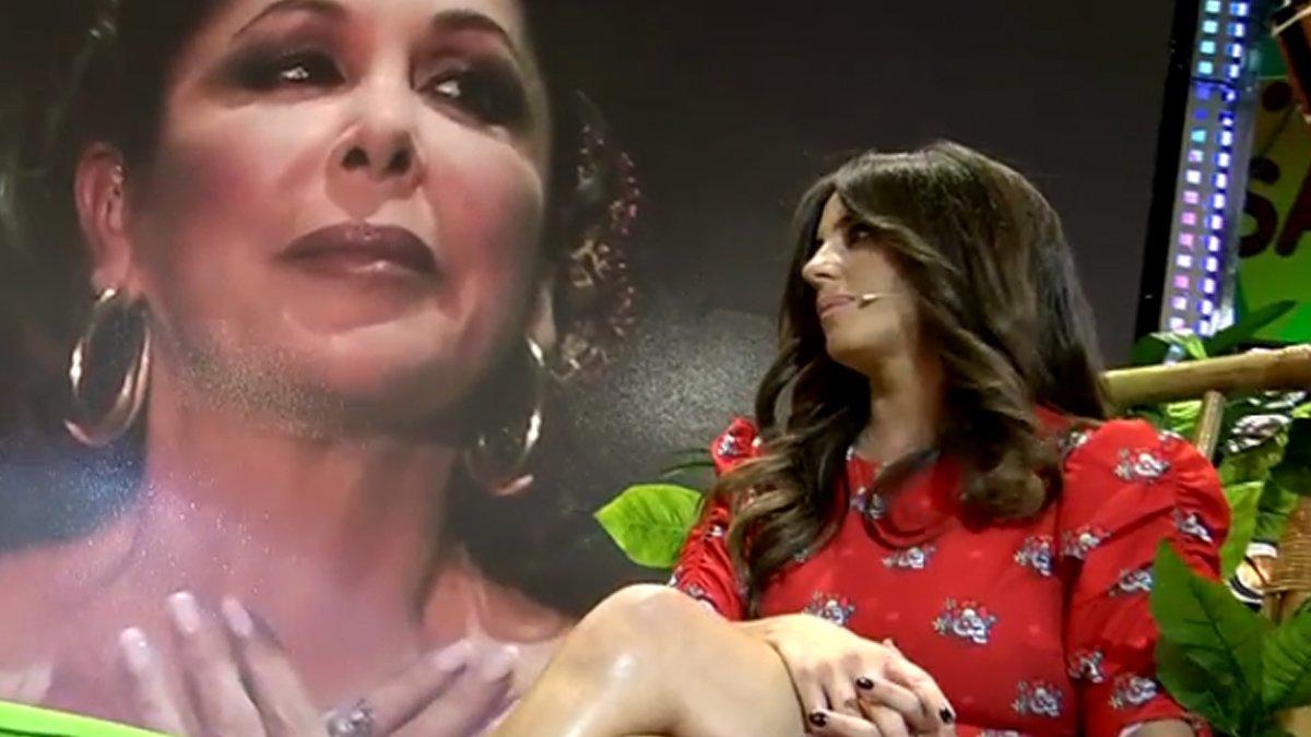 Anabel Pantoja habla de los motivos que llevan a su tía a participar en 'Supervivientes'