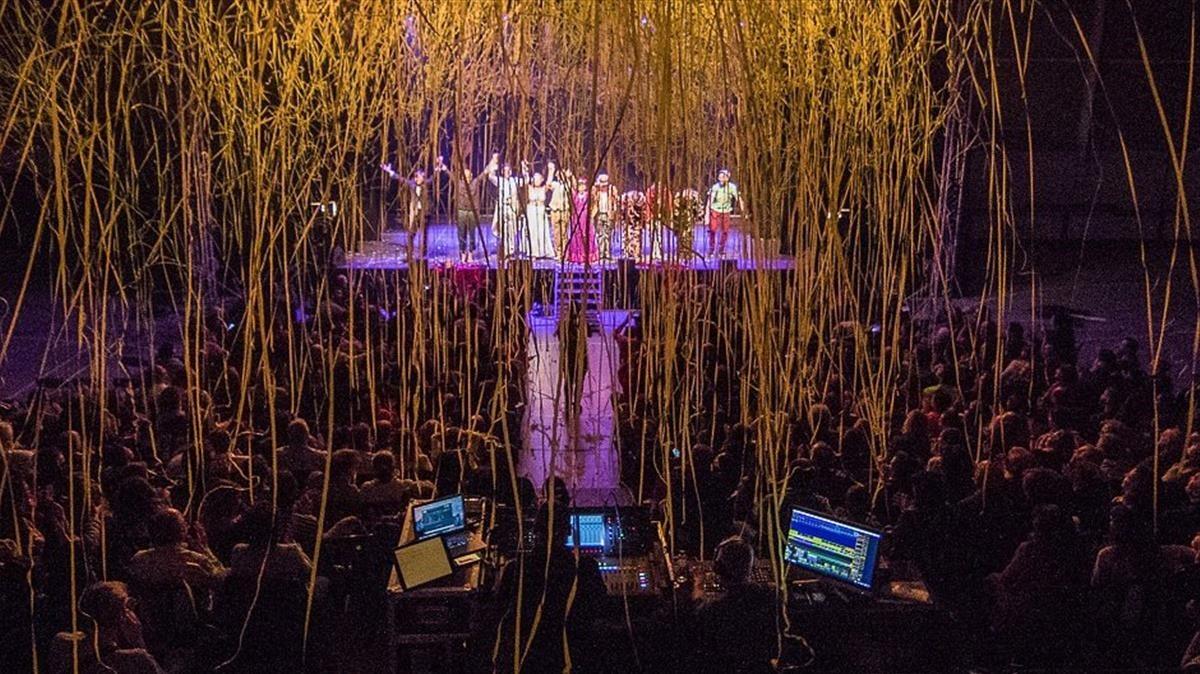 Apoteosis final en la Gala Internacional en la noche del sábado.