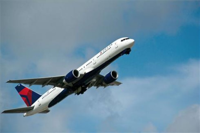 Un avión de Delta Airlines.