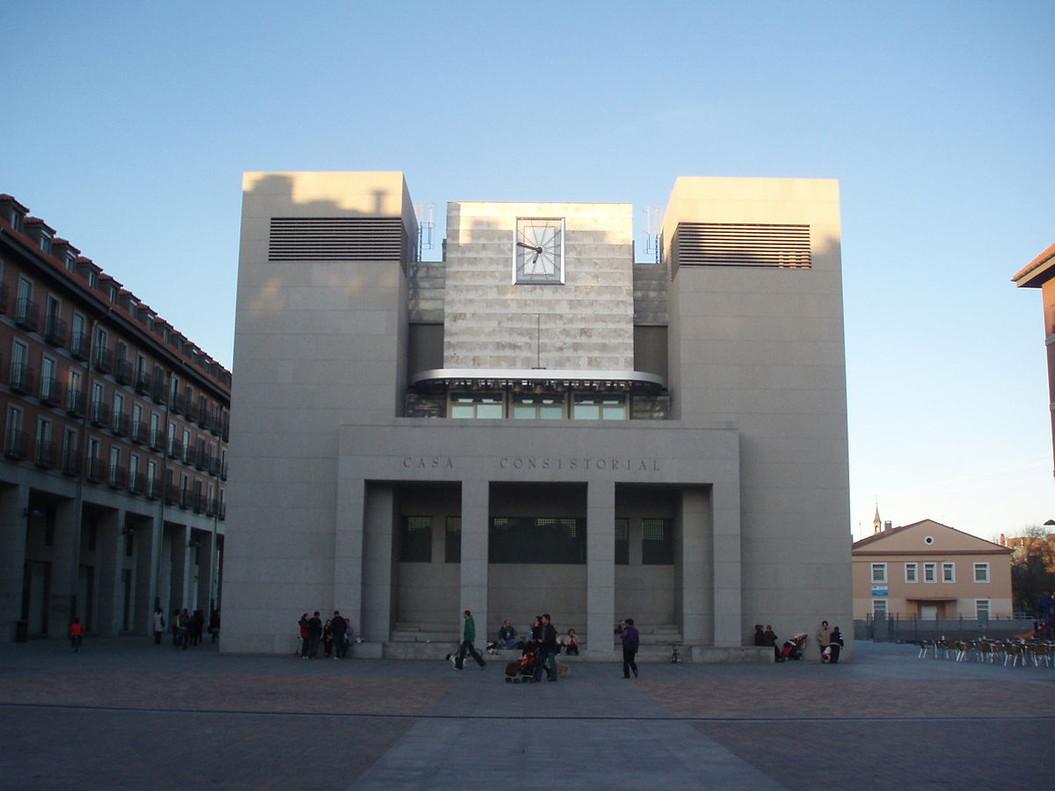 El Ayuntamiento de Leganés.