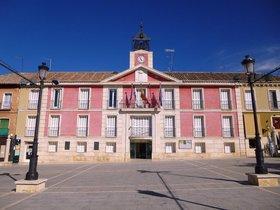 Exterior del Ayuntamiento de Aranjuez.