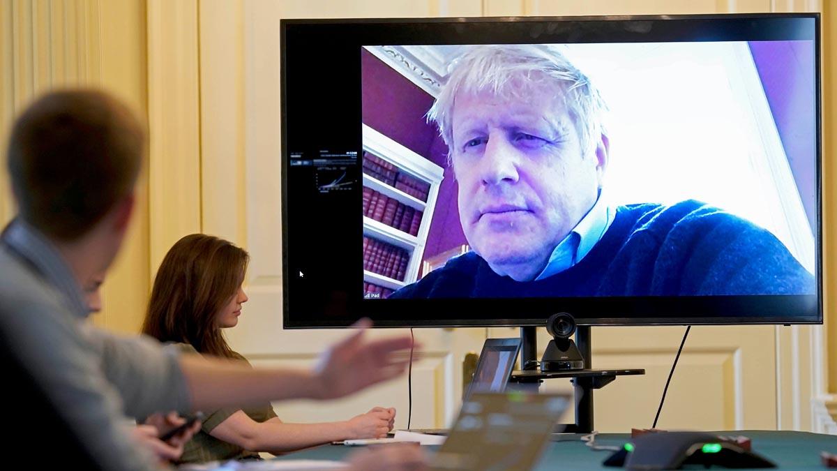 Boris Johnson ha recibido oxígeno esta noche