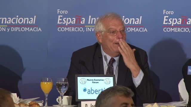 Borrell anucia que el Estado recurrirá la reobertura de las embajadas de la Generalitat.