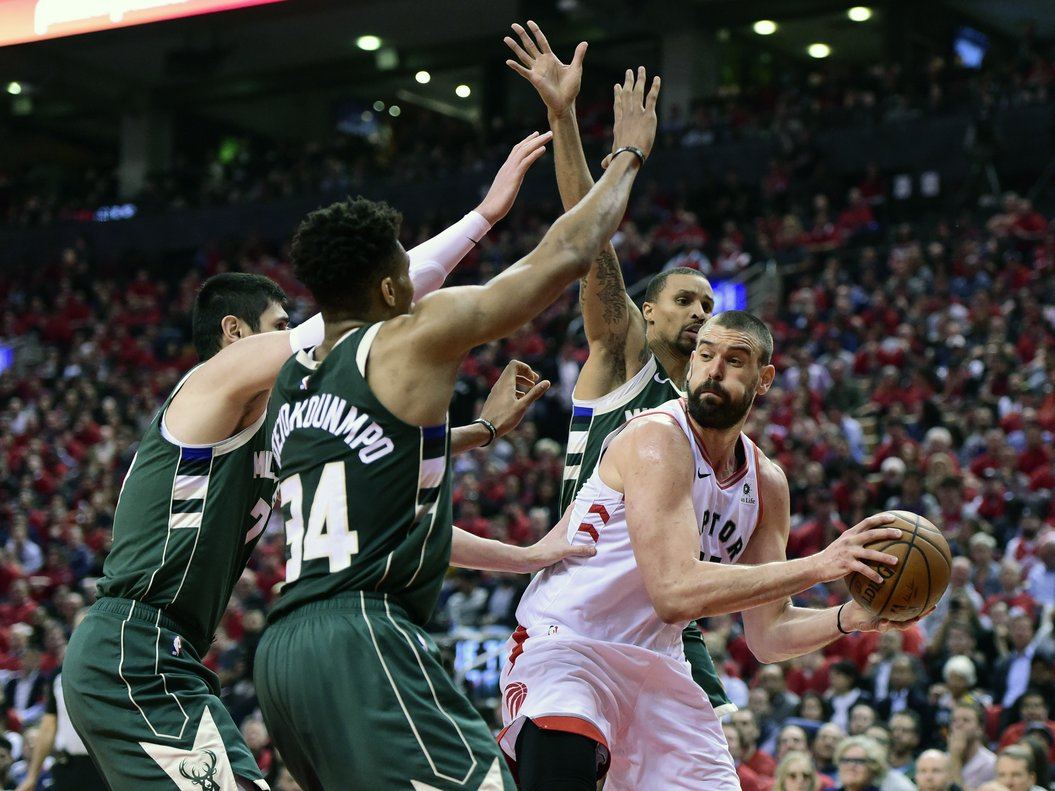 Raptors empata Final de Conferencia Este tras vencer a Bucks — Playoffs NBA