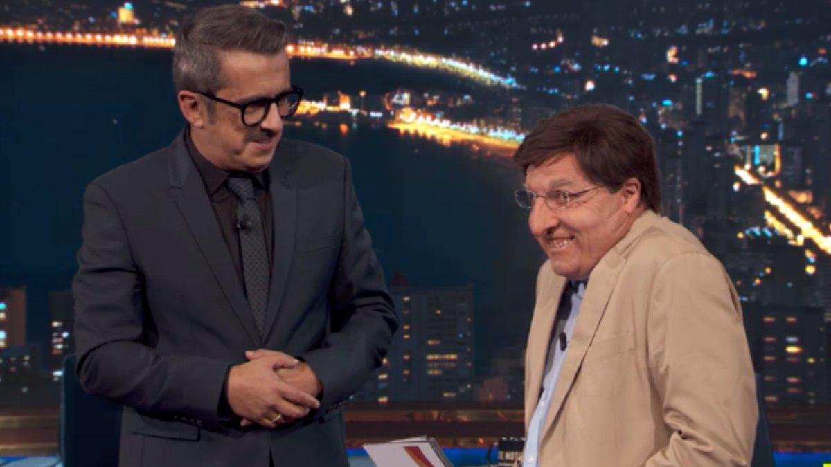 Raúl Pérez estrena en 'Late motiv' su imitación de José Luis Martínez-Almeida