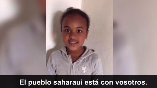 Campaña de solidaridad del pueblo saharaui con España en tiempos de coronavirus.