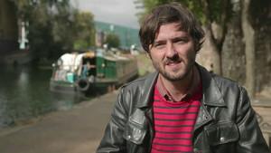 Carlos Marqués-Marcet, en el rodaje de Tierra firme