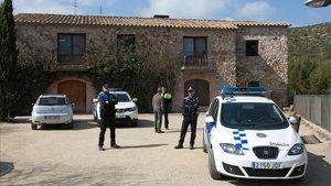 El centro de colonias de Castelldefelsque acoge a losmenores extranjeros no acompañados.
